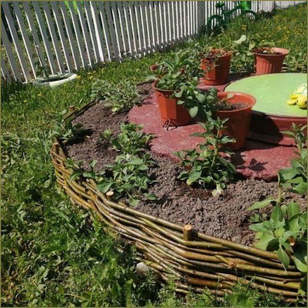 inexpensive garden edging ideas