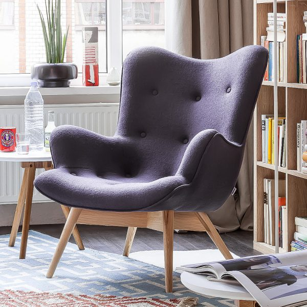 small reading chair