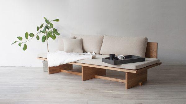 Diy wooden sofa