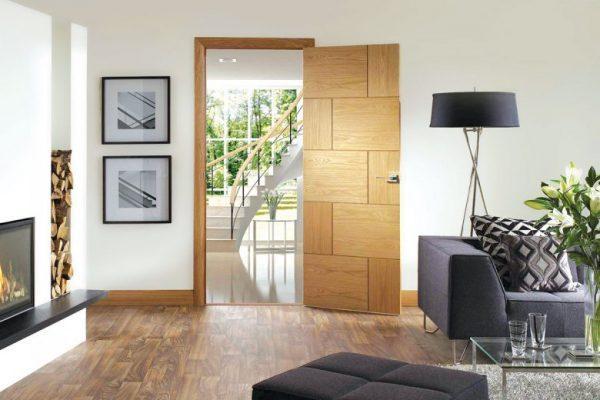 Floor and door color combinations