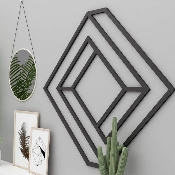 geometric metal art