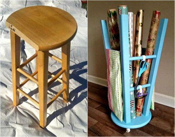 upcycled furniture before and after