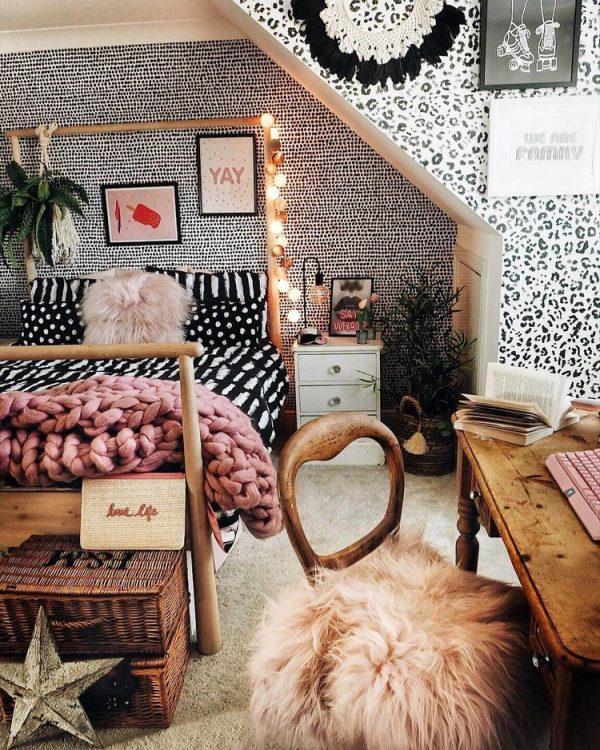 boho girl bedroom decor