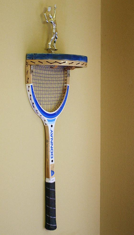 recycle tennis rackets