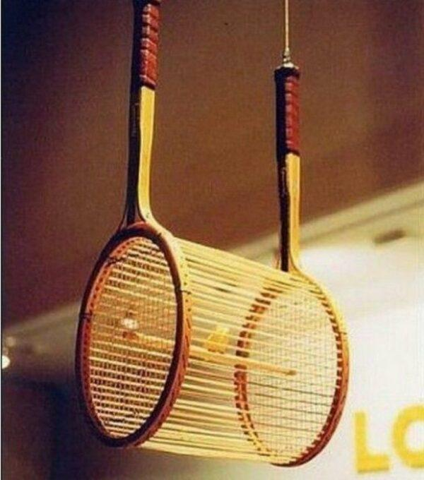 how to reuse tennis rackets