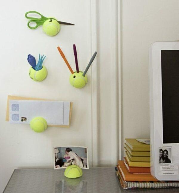 Creative uses for old tennis balls