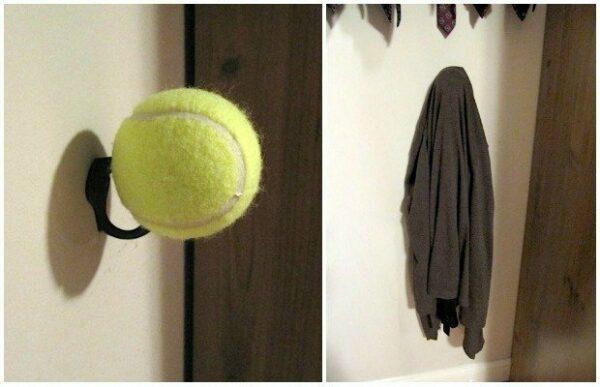 tennis ball crafts ideas