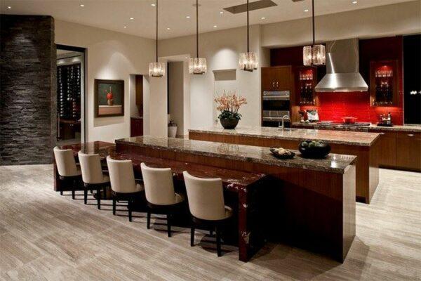 double island kitchen modern
