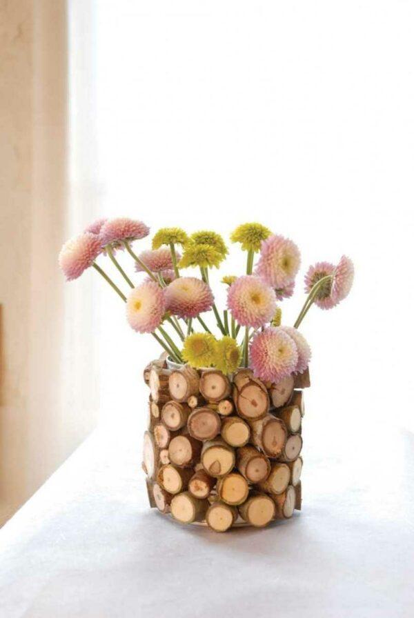 Natural wood decorating ideas