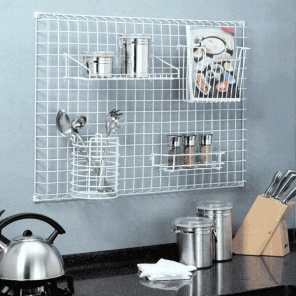 kitchen wall organizer ideas