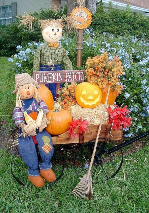 diy autumn outdoor decorations