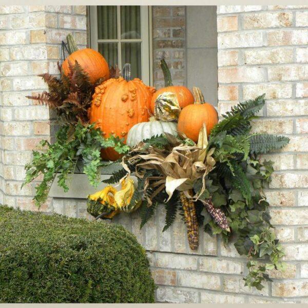 outdoor autumn displays