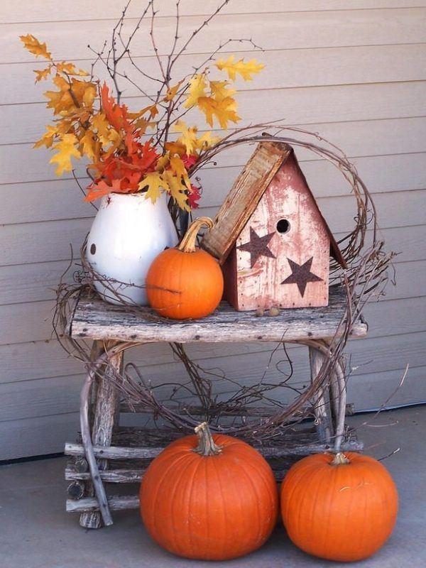 outdoor autumn decoration