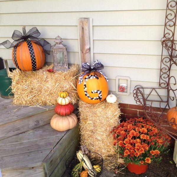 natural autumn decorations