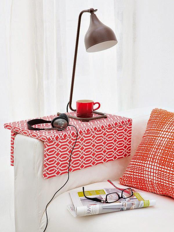 couch organizer tray